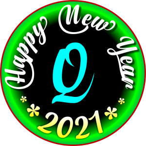 happy new year 2021 WhatsApp Q Dp