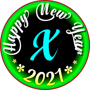 happy new year 2021 WhatsApp X Dp