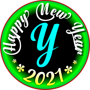 happy new year 2021 WhatsApp Y Dp
