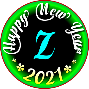 happy new year 2021 WhatsApp Z Dp