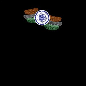 fingerprint india flag