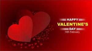 valentine's day red free background