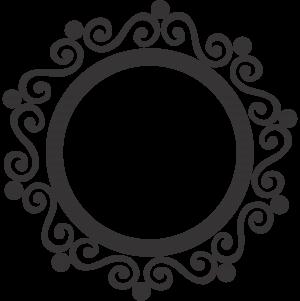 new circle clipart design